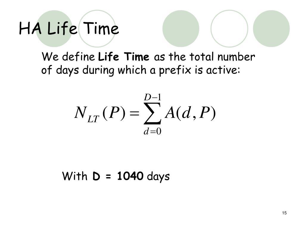 HA Life Time