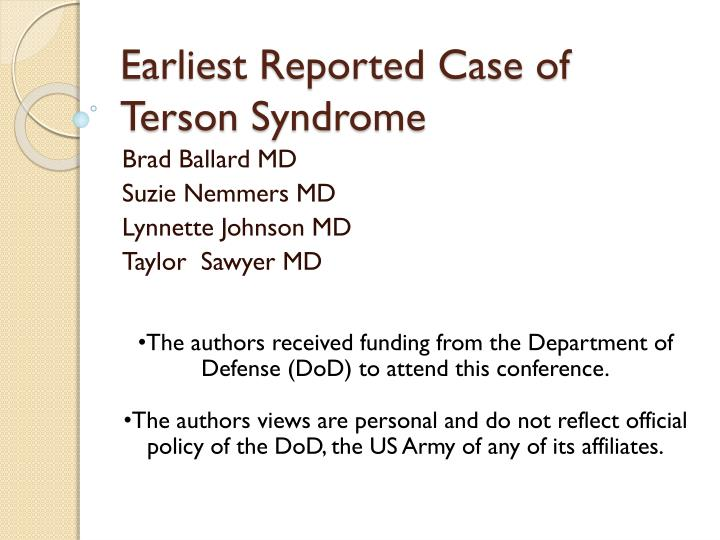 Earliest reported case of terson syndrome l.jpg