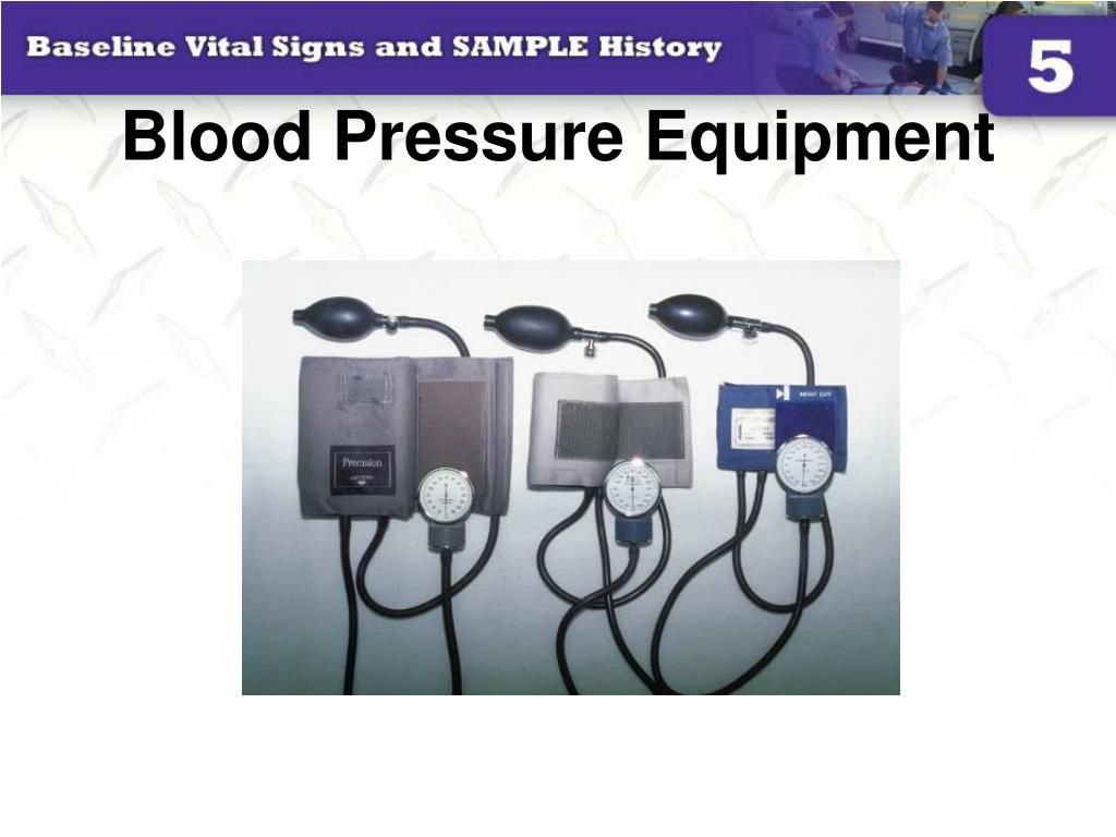 Blood Pressure Equipment
