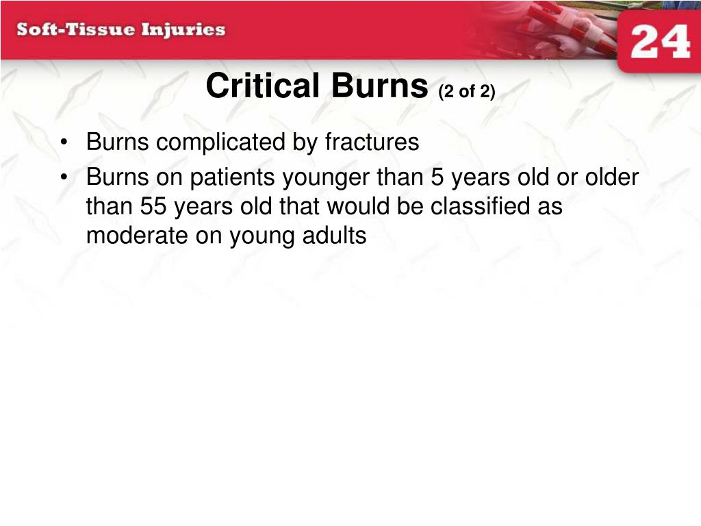 Critical Burns