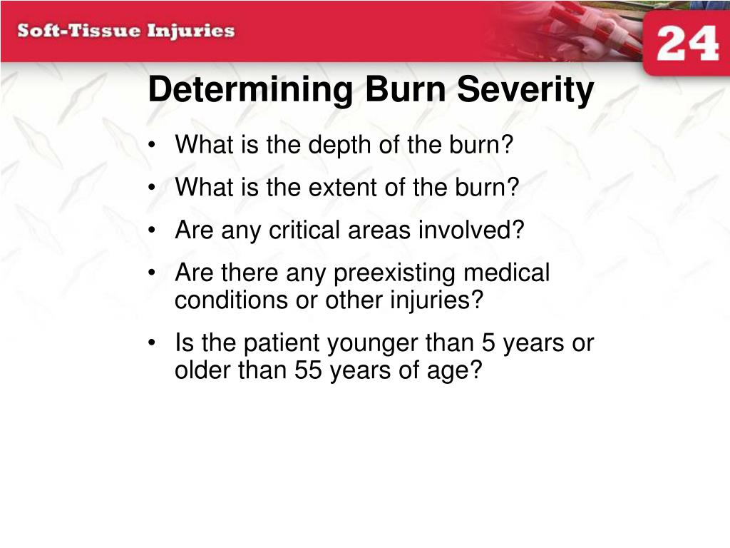 Determining Burn Severity
