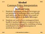 alcohol common policy interpretation10