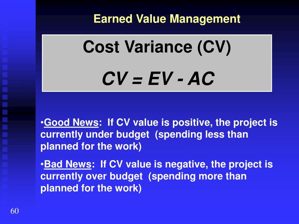 Earned Value Management