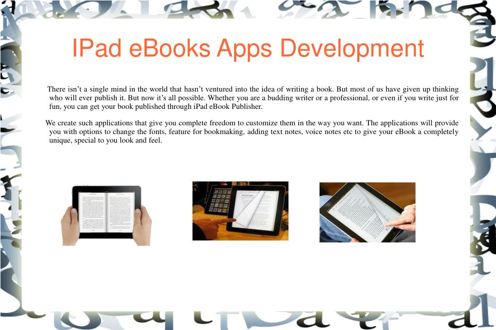 IPad eBooks Apps Development