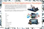 welcome to ipad applications developer