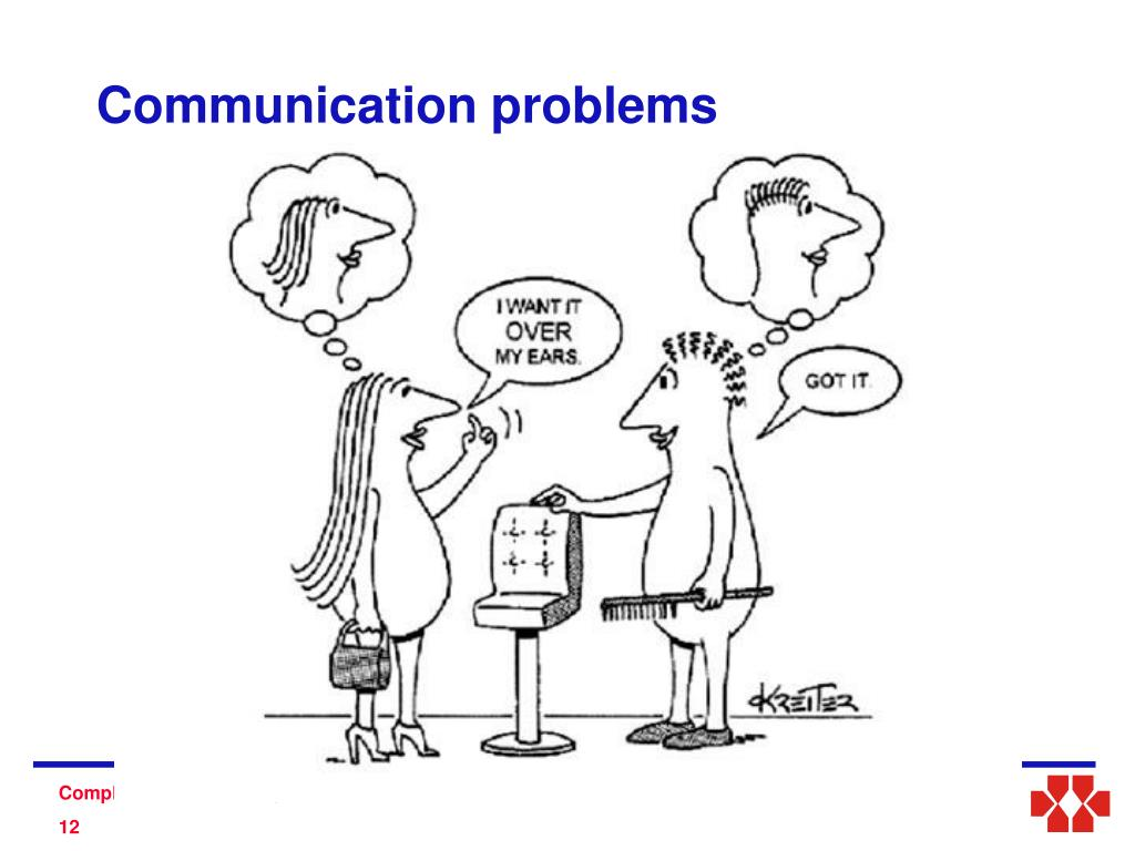 Communication problems