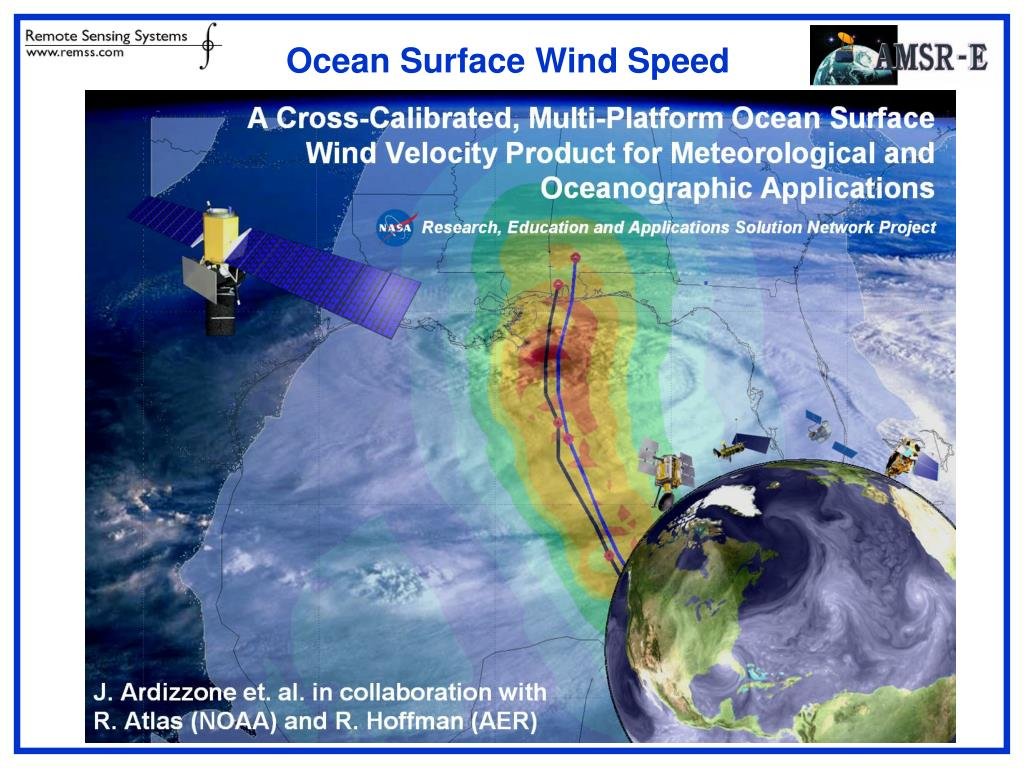 Ocean Surface Wind Speed