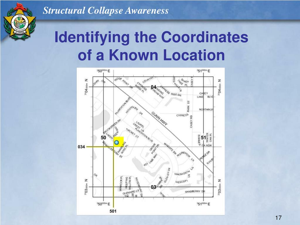Identifying the Coordinates