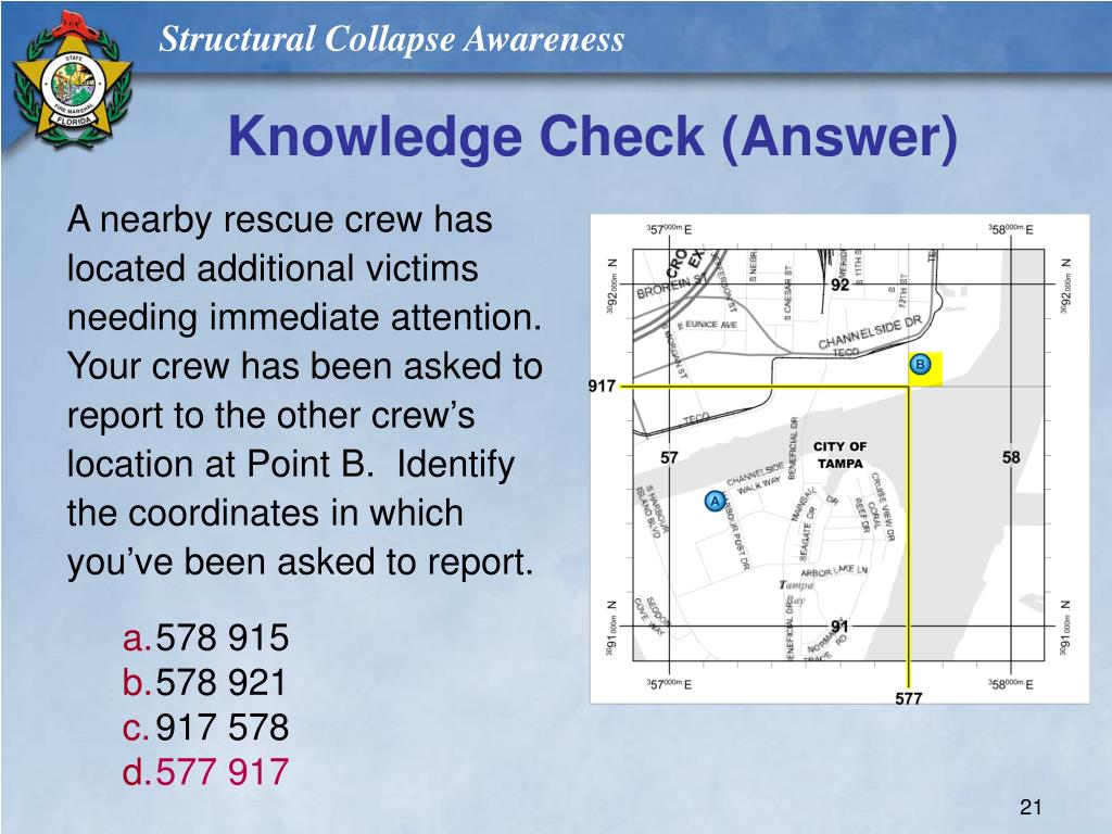 Knowledge Check (Answer)