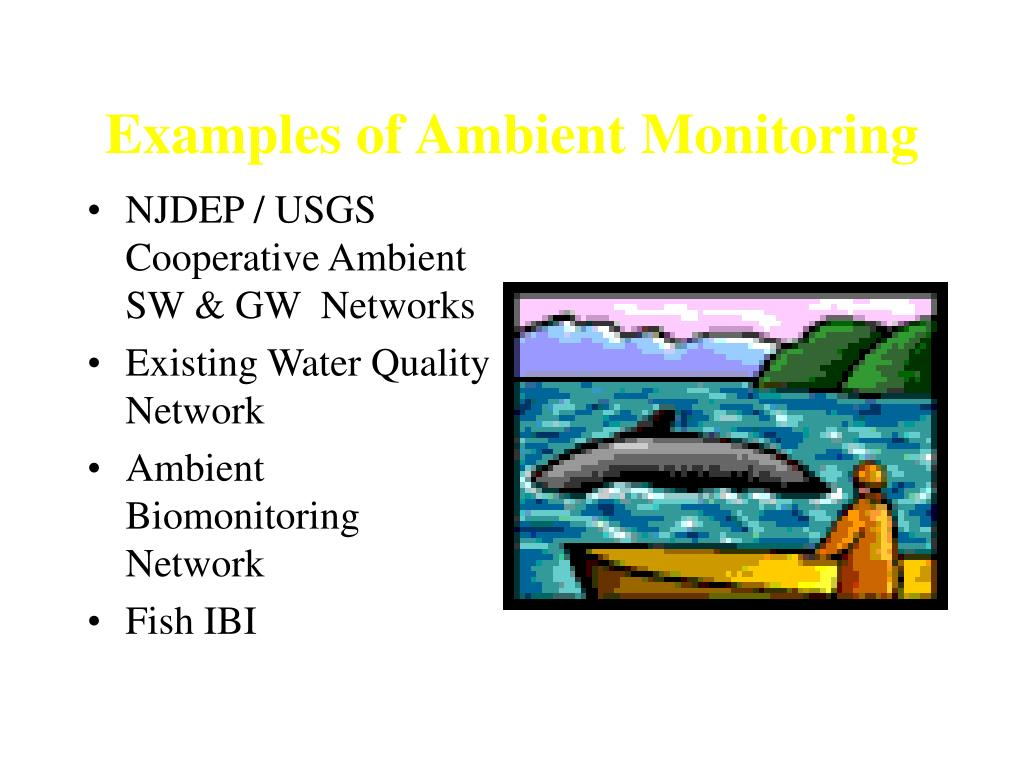 Examples of Ambient Monitoring