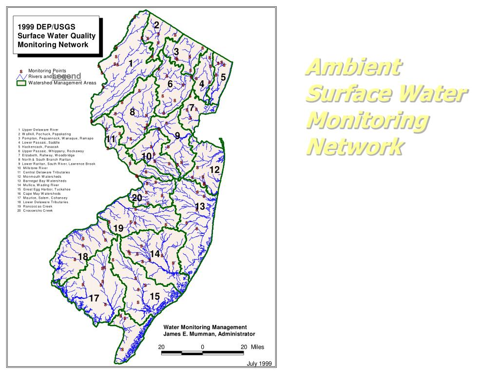 Ambient Surface Water Monitoring Network