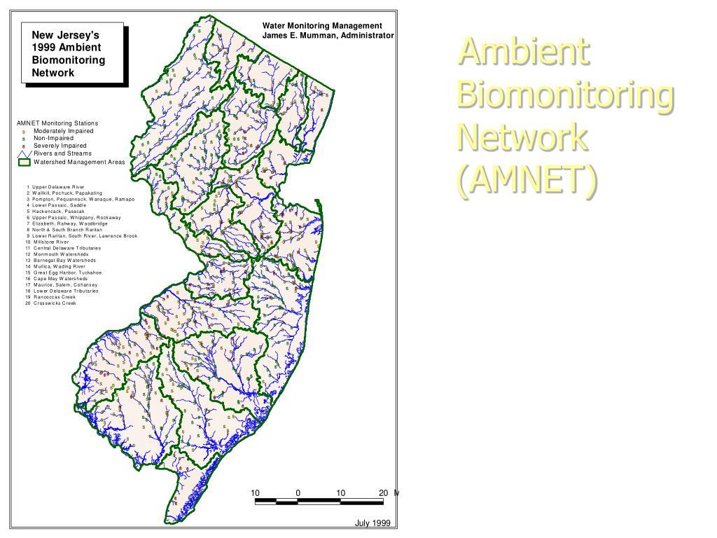 Ambient Biomonitoring Network (AMNET)