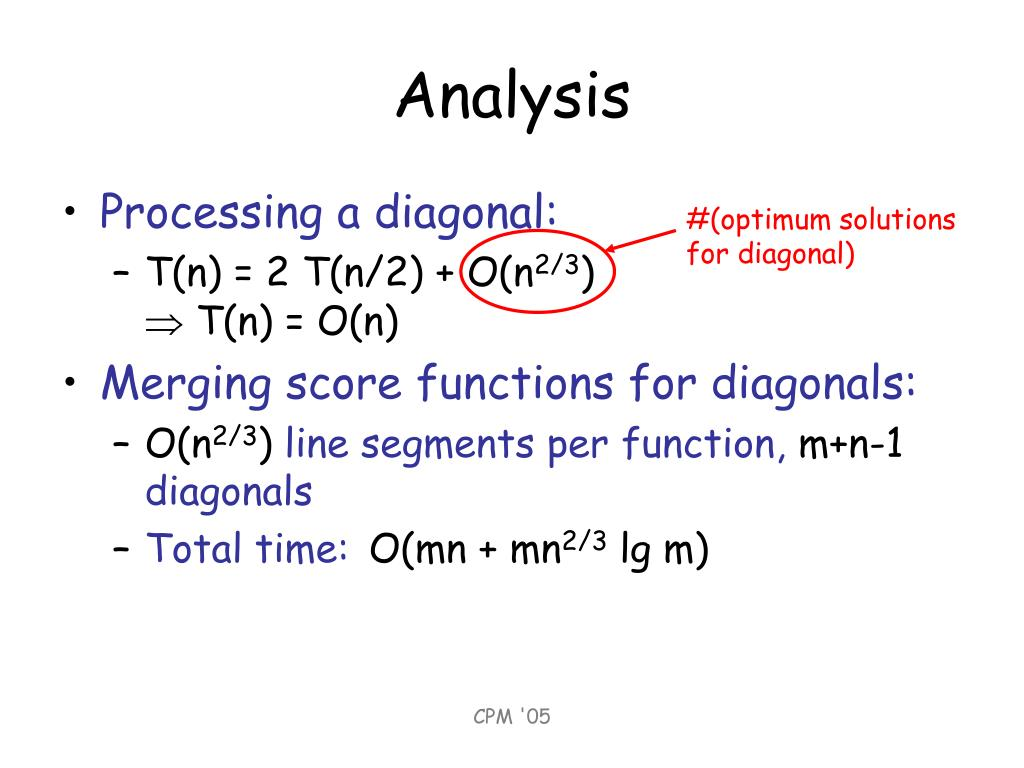 #(optimum solutions for diagonal)