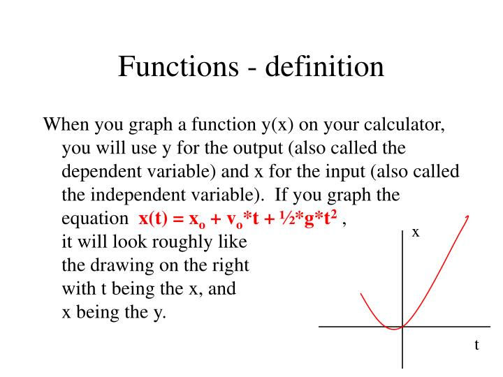 Functions definition3