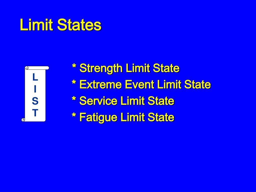 Limit States