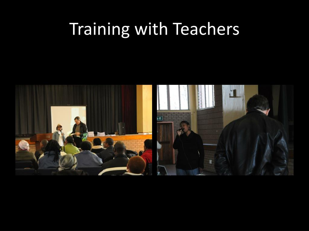 Training with Teachers