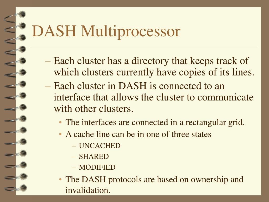 DASH Multiprocessor