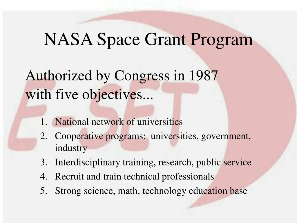 NASA Space Grant Program