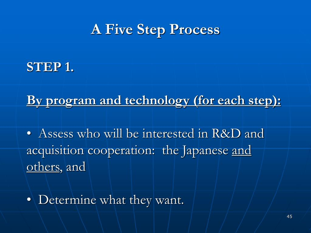 A Five Step Process