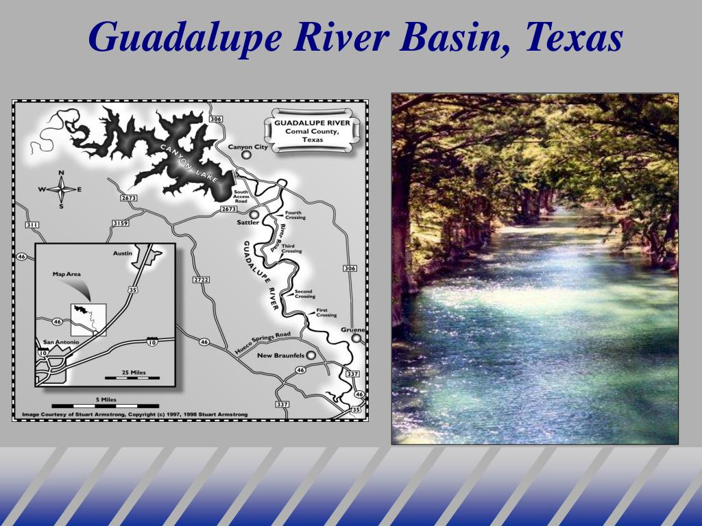 Guadalupe River Basin, Texas