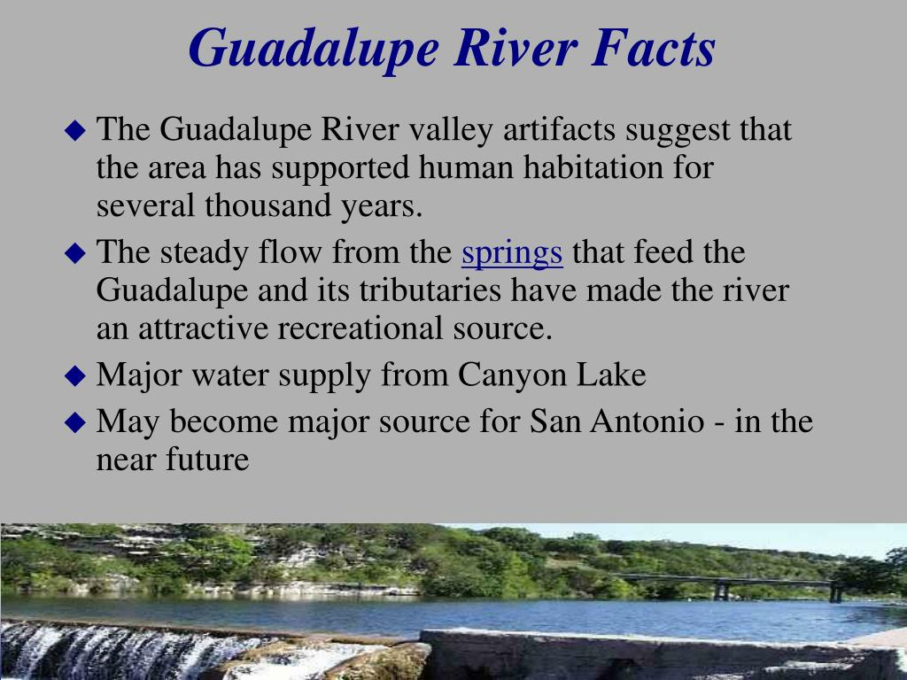 Guadalupe River Facts