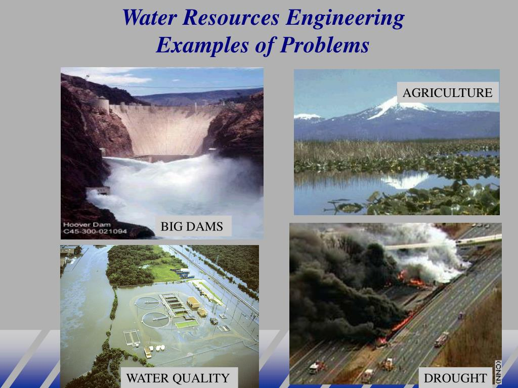 Water Resources Engineering Examples of Problems