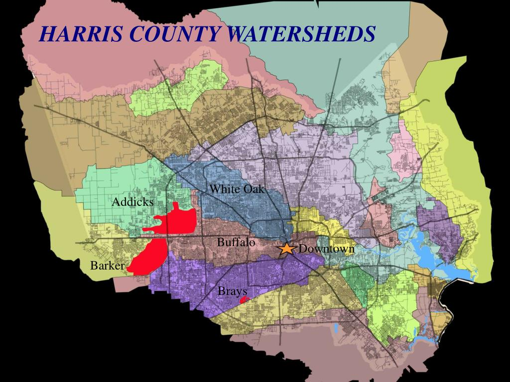 HARRIS COUNTY WATERSHEDS