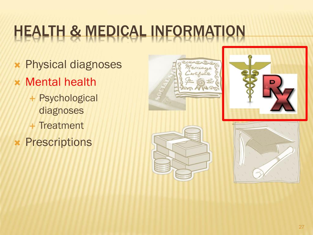 health & medical information