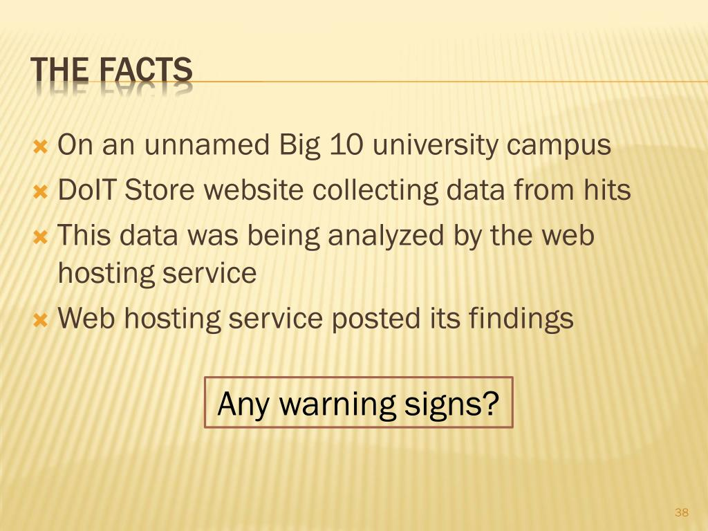 On an unnamed Big 10 university campus