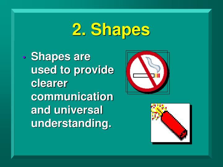 2. Shapes
