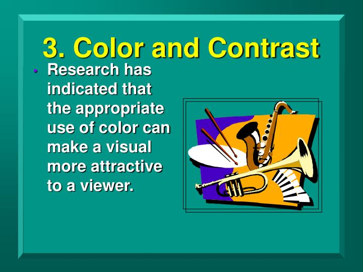 3. Color and Contrast