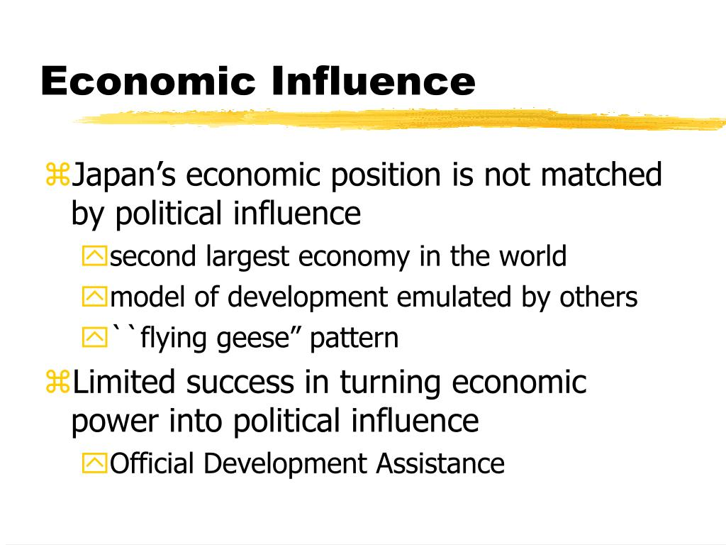 Economic Influence