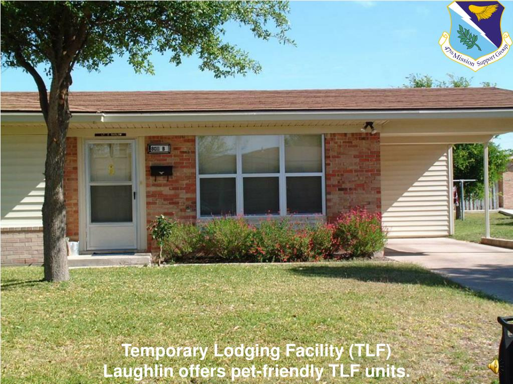 Temporary Lodging Facility (TLF)