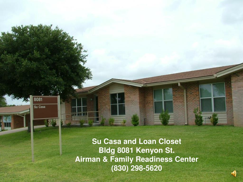 Su Casa and Loan Closet