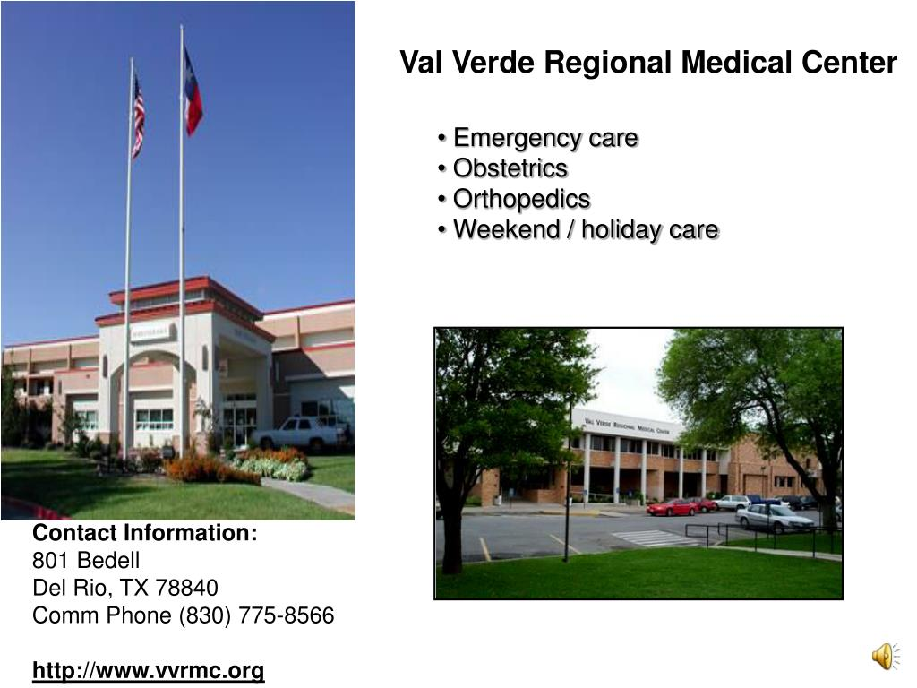 Val Verde Regional Medical Center