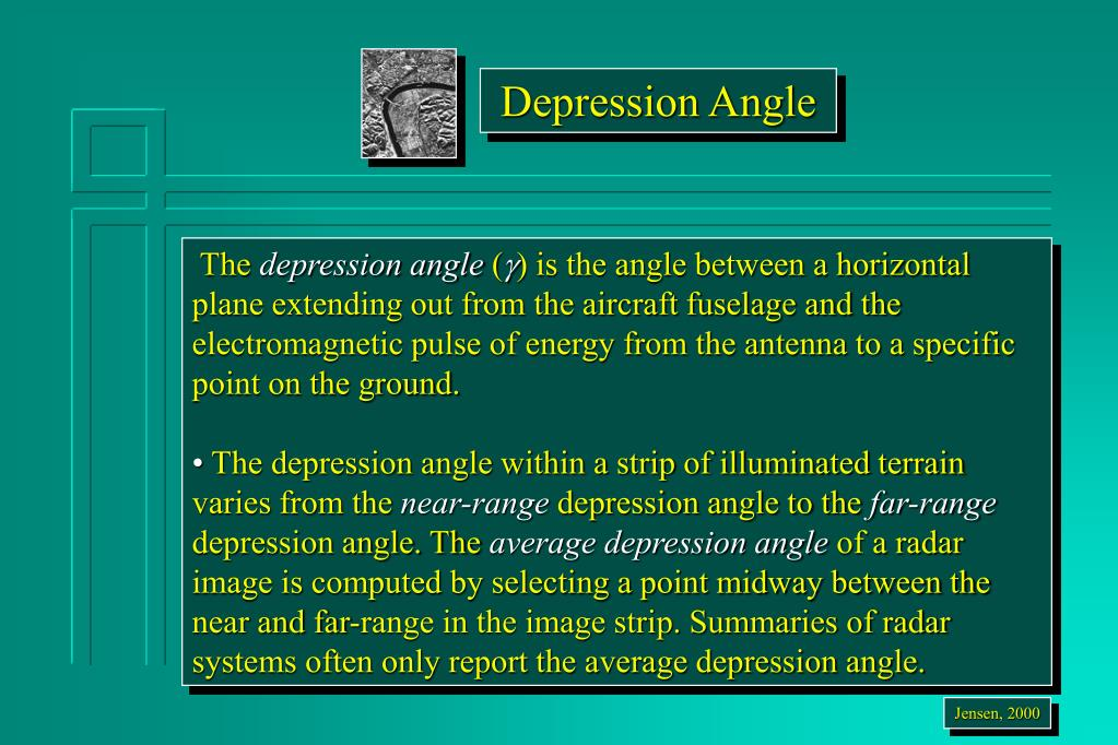 Depression Angle