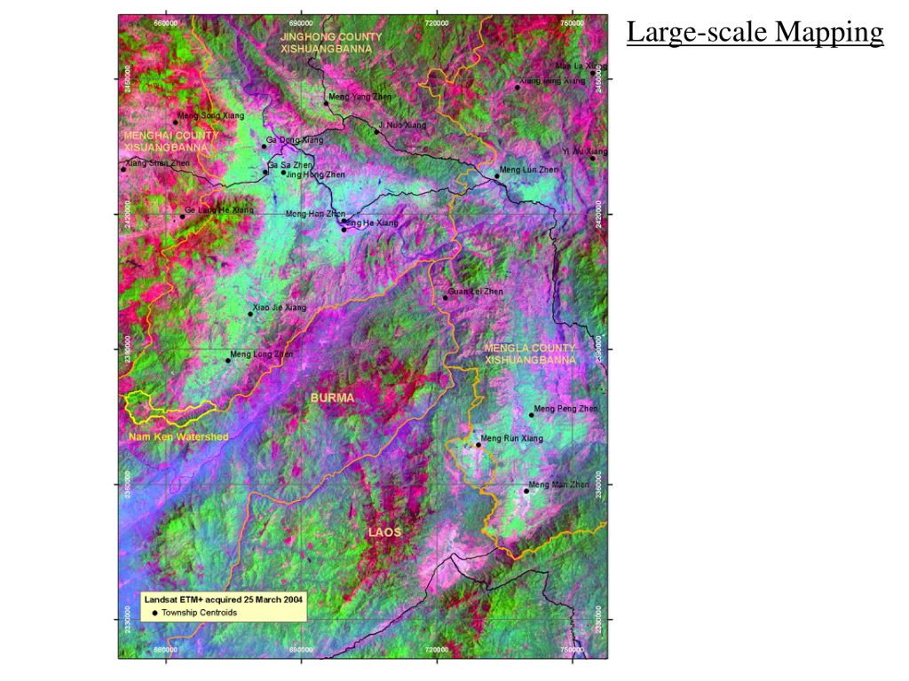 Large-scale Mapping
