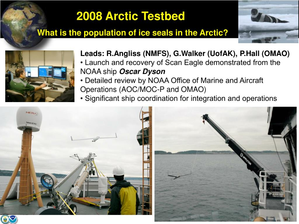 2008 Arctic Testbed