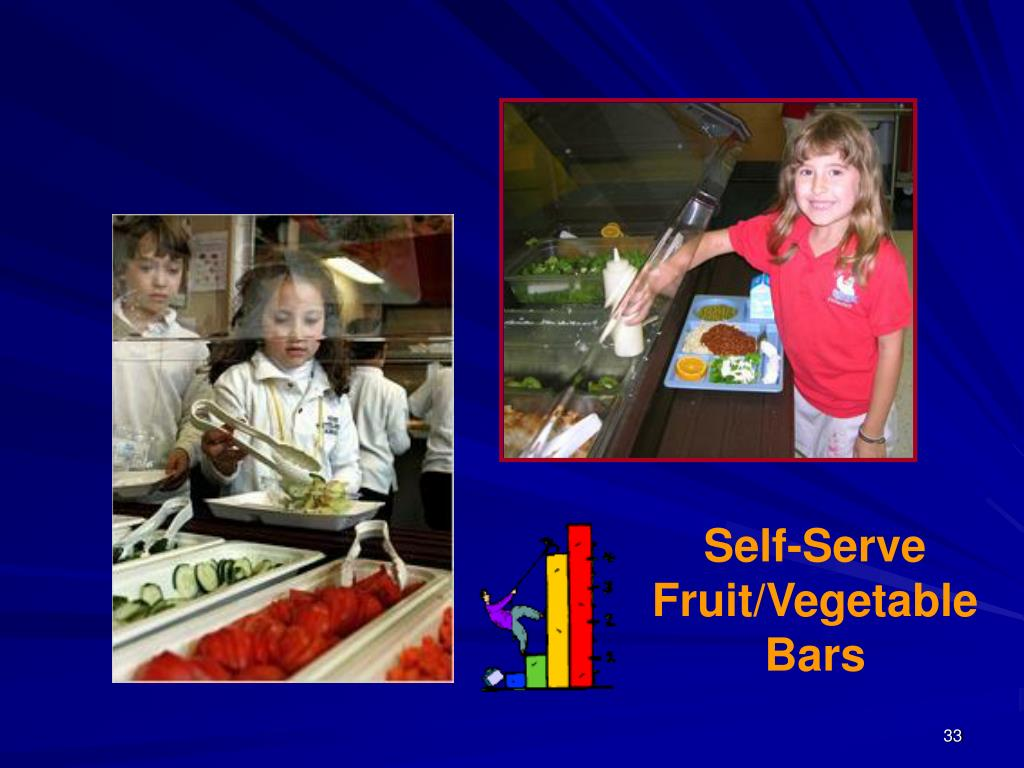 Self-Serve Fruit/Vegetable Bars