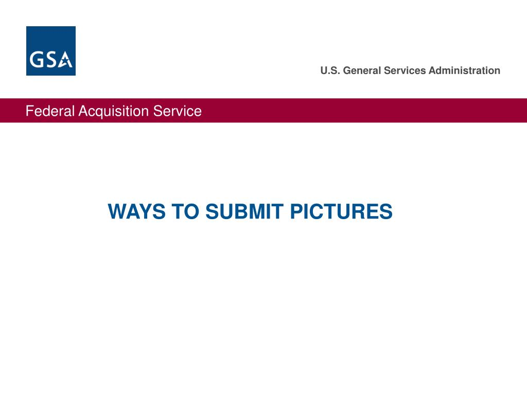 WAYS TO SUBMIT PICTURES