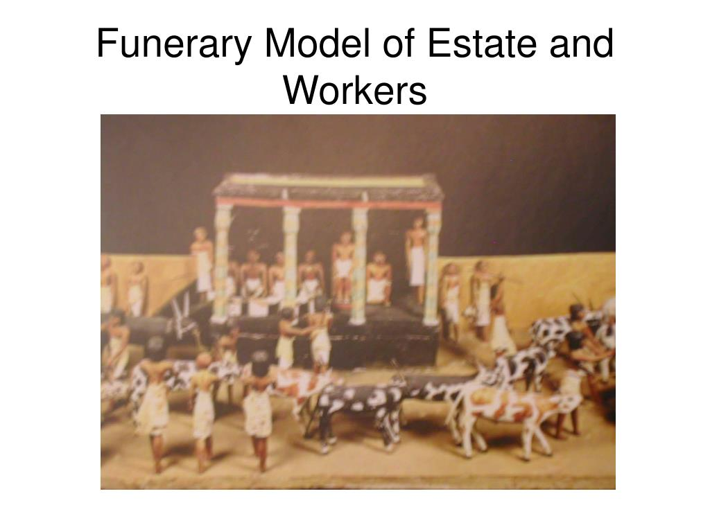 Funerary Model of Estate and Workers