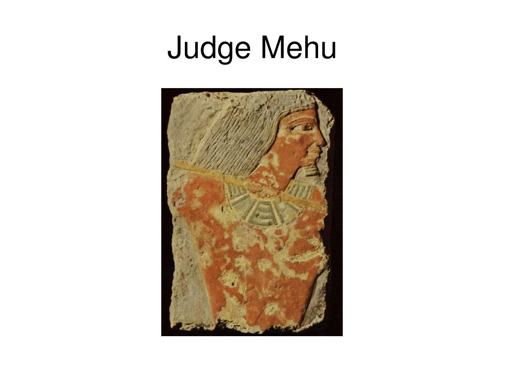 Judge Mehu