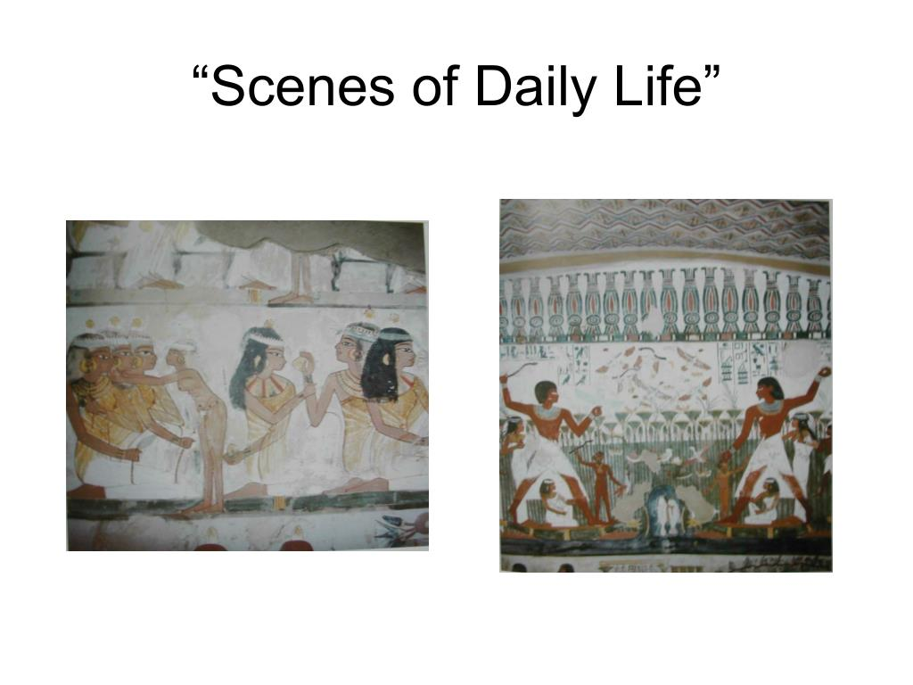 """Scenes of Daily Life"""