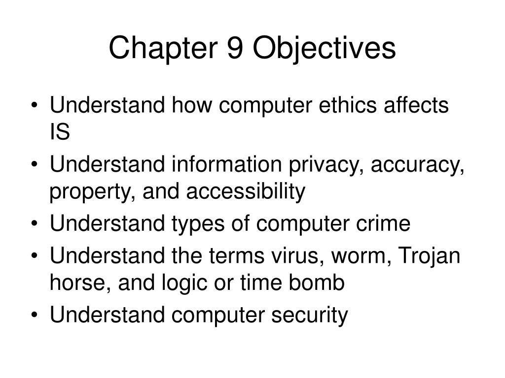 computer ethics and information systems Accounting systems ethics involve a company's financial reporting activities companies that publicly trade stock, solicit investors or creditors use their financial reports as the means to communicate important financial data.