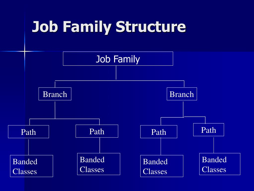 Job Family Structure