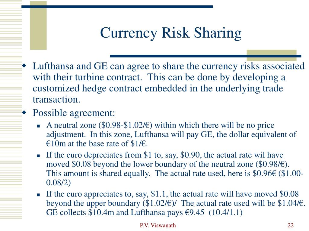 Currency Risk Sharing