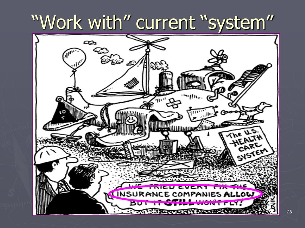 """""""Work with"""" current """"system"""""""