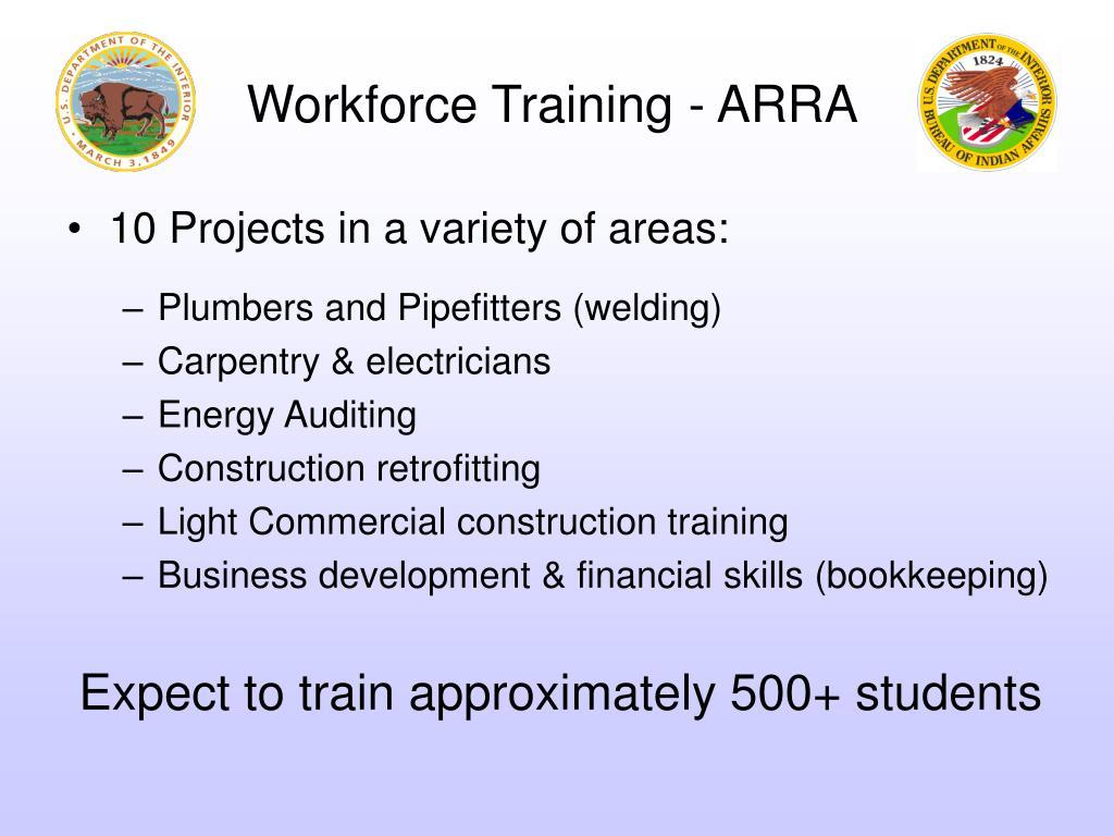 Workforce Training - ARRA