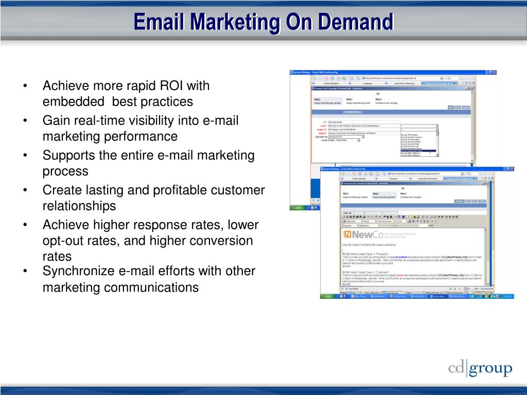 Email Marketing On Demand