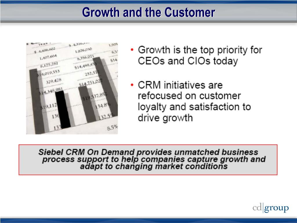 Growth and the Customer